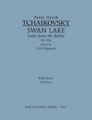 Swan Lake Suite Study score Op.20a
