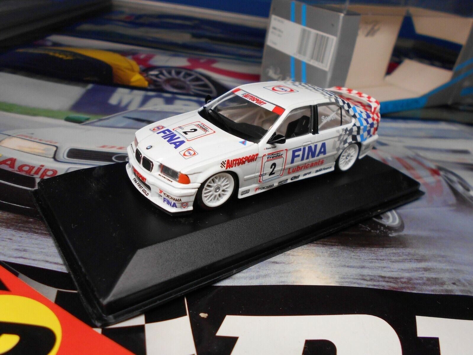 1 43 MINICHAMPS BMW 318 IS BTCC 1994 FINA TOURISME TOURISMO