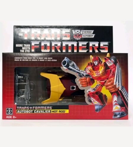 Transformers Walmart Exclusive G1 Re-issue Hot Rod Brand New MISB Ready To Ship!
