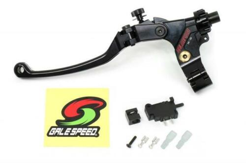 Galespeed Clutch Cable Perch Kit Black//Red 28mm//30mm Regular Lever Regular Clamp