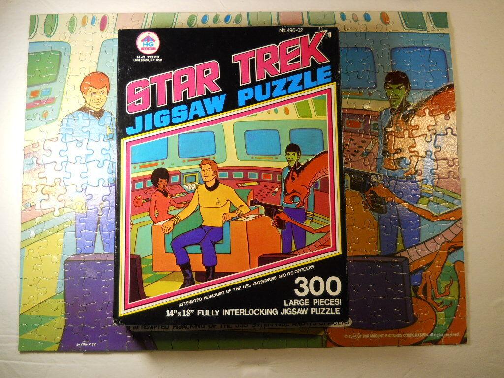 completare HG giocattoli 1974 495-05 estrella  TREK Animated Series 300 PIECE JIGSAW PUZZLE  migliore vendita
