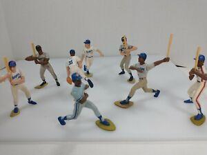 8 baseball Starting Lineup figures - Mike Scott, Strawberry, Mattingly, Scott