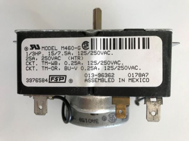 3976585  WHIRLPOOL DRYER TIMER