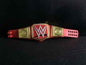 WWE-Mattel-Action-Figure-Accessory-Universal-Title-Belt-Elite-Series-loose