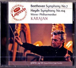Herbert von KARAJAN: BEETHOVEN Symphony No.7 HAYDN 104 Wiener Philharmoniker  CD   eBay