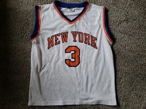 size 40 1c84f 178cb Details about VINTAGE John Starks New York Knicks White Stadium Give Away  SGA Jersey Adult