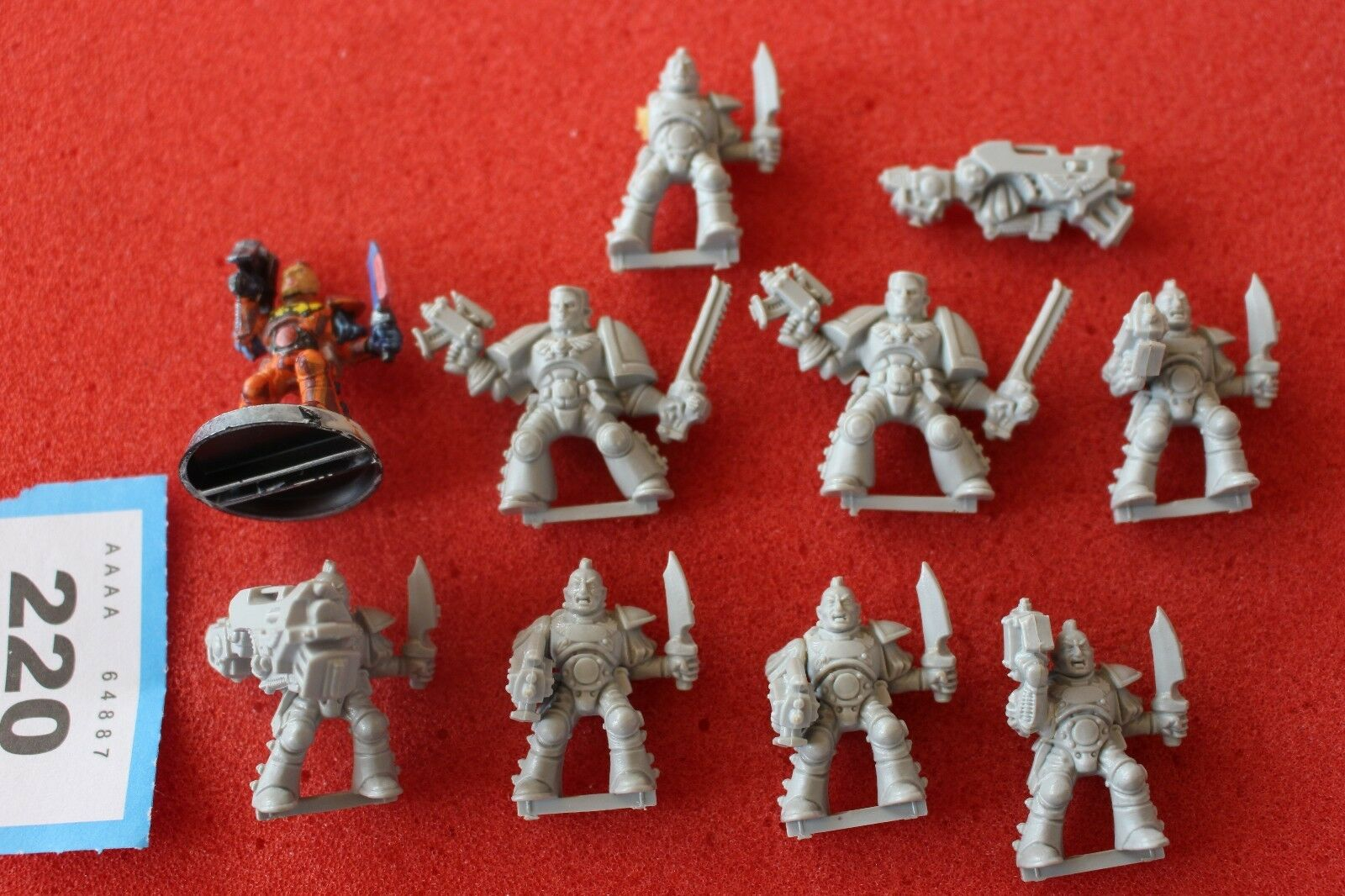 Games Workshop Warhammer 40k Space Marines Rogue Trader Scouts Squad 1990s OOP