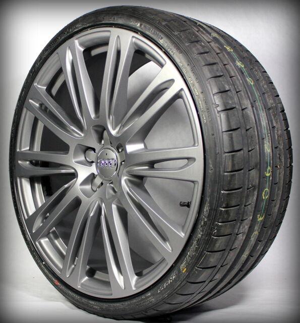 20 Zoll Original Kompletträder 10-Parallelspeichen-Design Audi A4 CC Titan Matt
