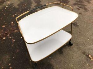 Tische Intellektuell 50er 60er Teewagen Bar Servierwagen Resopal Table 50s Mid Century Lounge Tisch Verkaufsrabatt 50-70%