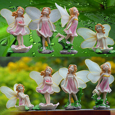 Wooden Mini Picket Fence Miniature Dollhouse Bonsai Craft Landscape Decor DIY xh