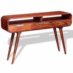 vidaXL-Solid-Sheesham-Wood-Console-Table-120x30x75-cm-Phone-Stand-Sideboard