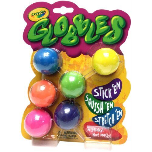 Crayola Globbles 6//pkg-assorted Colors