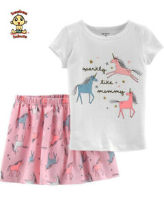 Carter-039-s-2-pc-Blouse-and-Skort-Set-12-months-Authentic-and-Brand-New