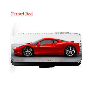 Supercars Jaguar race car leather wallet phone case iPhone,Samsung,HTC,Xperia,LG