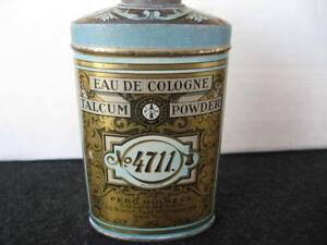 No Gallery Köln : vintage no 4711 eau de cologne talcum powder tin ebay ~ Watch28wear.com Haus und Dekorationen