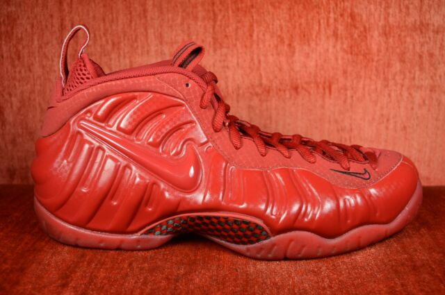 5f287b3e608 CLEAN 624041 603 NIKE AIR FOAMPOSITE PRO ONE RETRO GYM RED OCTOBER SIZE 10