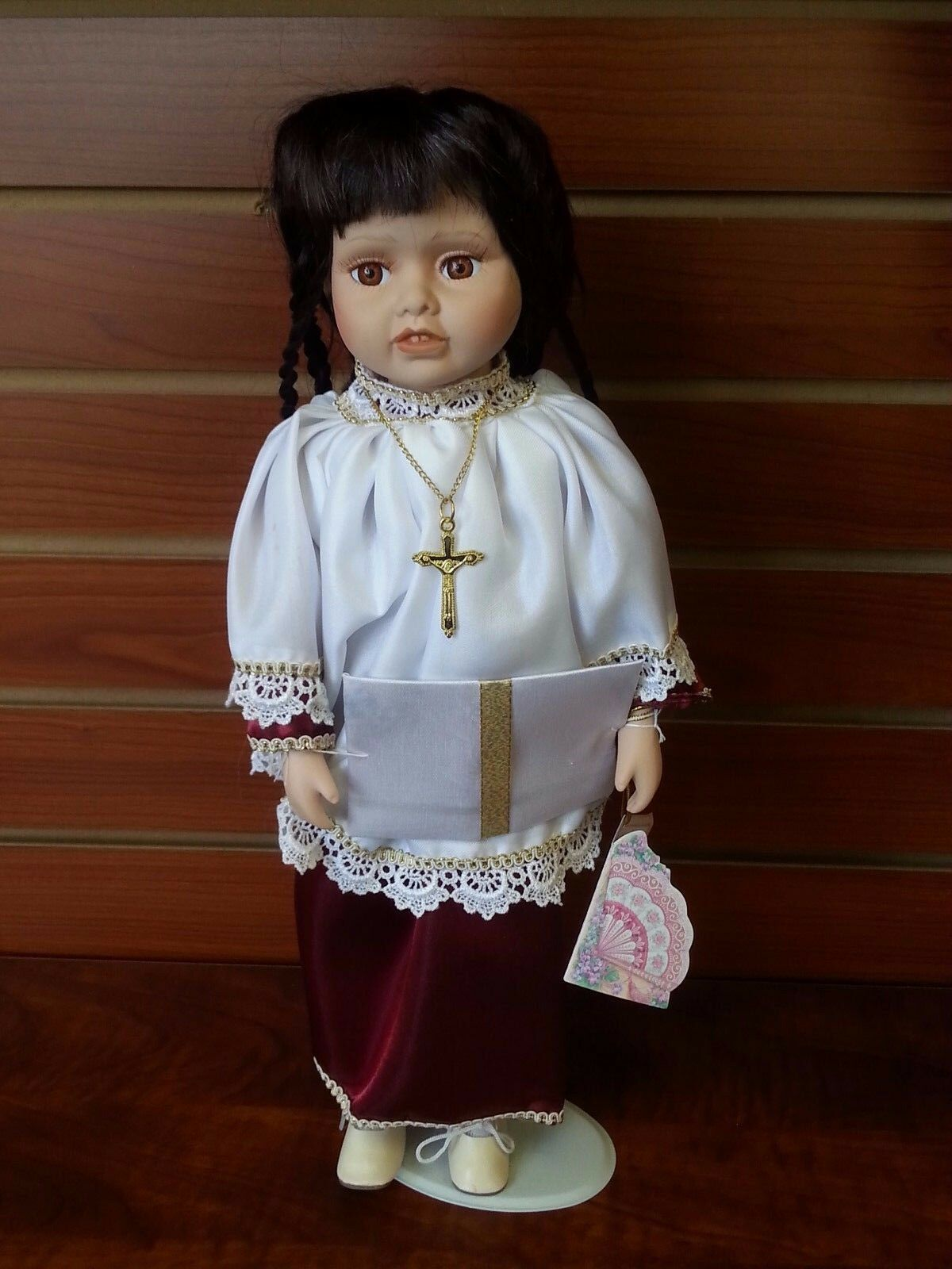 THE DANEA COLLECTION Porcelain Doll ''MERRY''  15'' Limited Edition