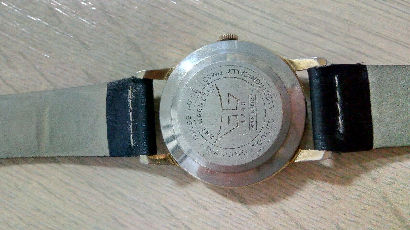 Davar De Luxe – vintage men's wristwatch – 1960s.… - image 4