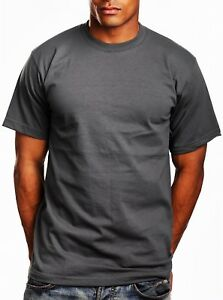 7fff5987f New Plain T-Shirts Men's Pro5 Pro 5 Short Sleeve Round Neck - Dark ...