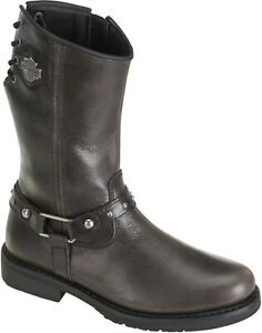 NEW HARLEY-DAVIDSON WOMEN'S MOTORCYCLE BOOTS D83722