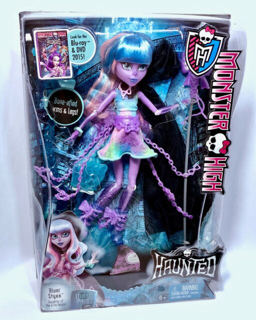 2014 Monster High River Styxx - Haunted - Student Spirits. New Boxed Doll NRFB.