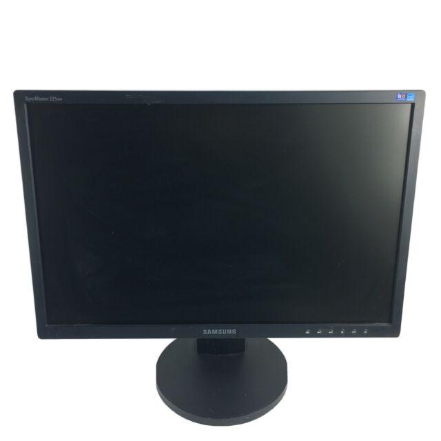 "SAMSUNG SyncMaster 225BW 22"" Widescreen VGA/DVI/DisplayPort LCD Monitor"