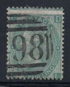 Grossbritannien-1865-Mi-27-Gestempelt-60-1-Sh-Koenigin-Victoria-D-I