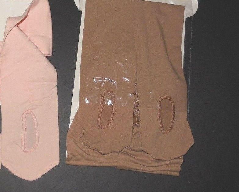 TIGHTS Ballet Pink or LSN New CAPEZIO TRANSITION 1816 1816C CONVERTIBLE