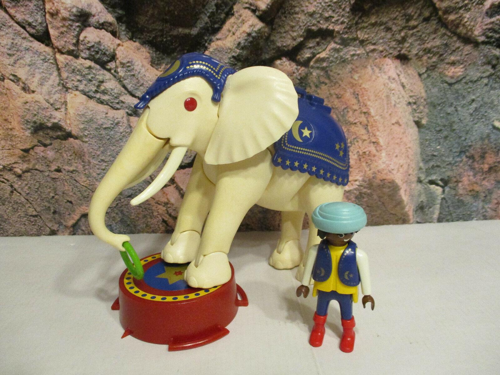(RL6) 3809 Weisser Elefant mit Dompteur Zirkus Cirkus Cirkus Cirkus auswahl 49d12a