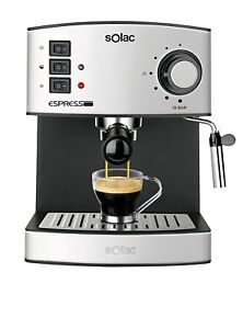 Solac-CE4480-coffee-espresso-and-cappuccino-19-bar-1-25L-vaporizer-Genuine-NEW