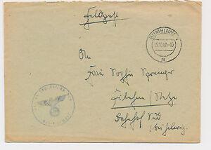 GUMBINNEN-Inf-Pz-Jaeg-Ers-Kp-206-Russland-Ostpreusen-1942-Feldpost-WW2-253