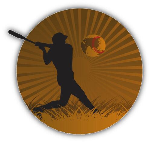 "Baseball Vintage Sport Emblem Car Bumper Sticker Decal /'/'SIZES/"""