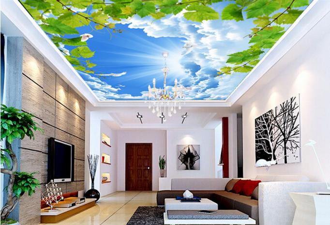 3D Weinberg Himmel 86 Fototapeten Wandbild Fototapete BildTapete Familie DE Kyra