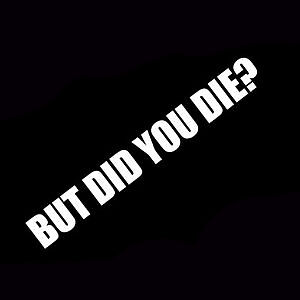 But-Did-You-Die-Car-Sticker-Decal-Vinyl-Hangover-Jdm-Stance-Drift-Race-Turbo