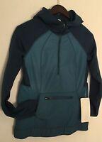 Lululemon Let's Get Visible Hoodie Jacket Slim Fit Alberta Lake Size 6