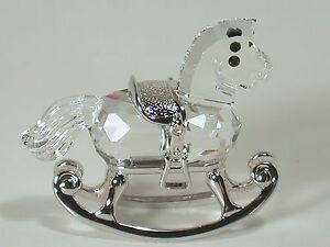 Cavallo A Dondolo Swarovski.Swarovski Cavallo A Dondolo Rocker Horse 626866 Ebay