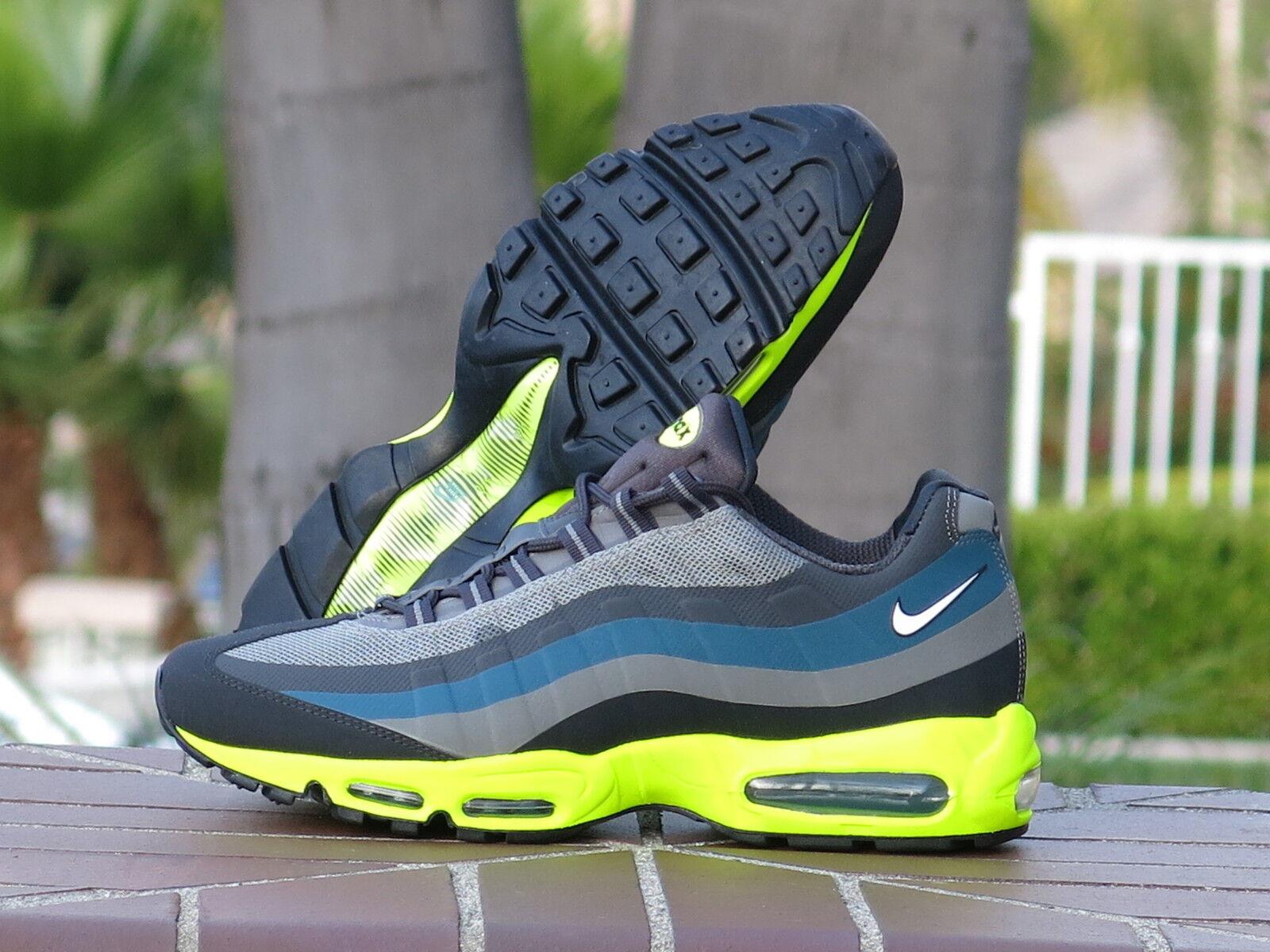 Nike Air Max 95 No-Sew Men's Running, Cross Training Sneakers 616190-007 SZ 12