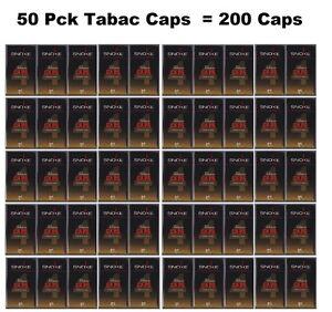 SNOKE-Caps-50-Packungen-200-Caps-Tobacco-fur-E-Zigarette