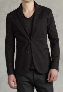 a3778929d Image is loading John-Varvatos-Collection-Hook-And-Eye-Jacket-Size-