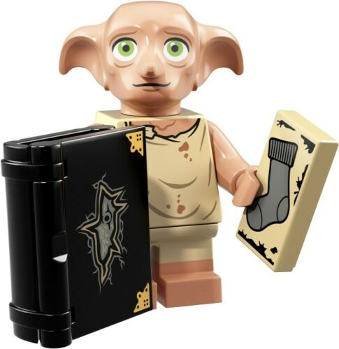 Lego Minifigures serie Harry Potter 71022 Elfo Dobby Nuovo
