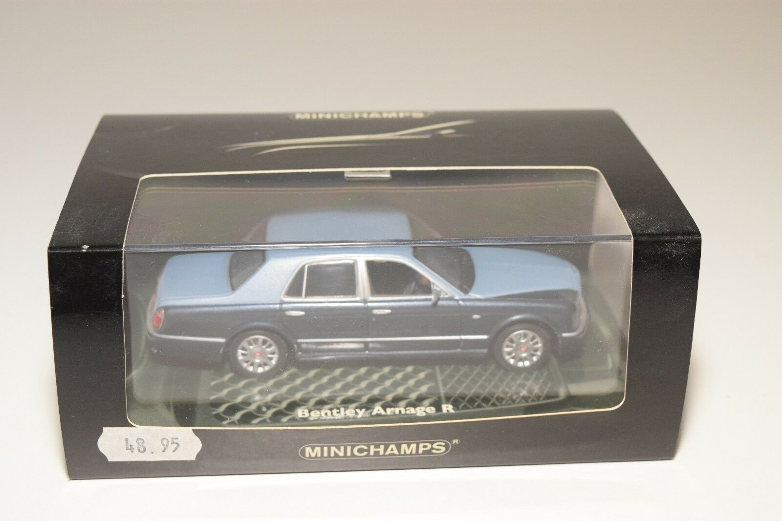 MINICHAMPS BENTLEY ARNAGE R 2003 TWO TONE METALLIC blueE MINT BOXED RARE