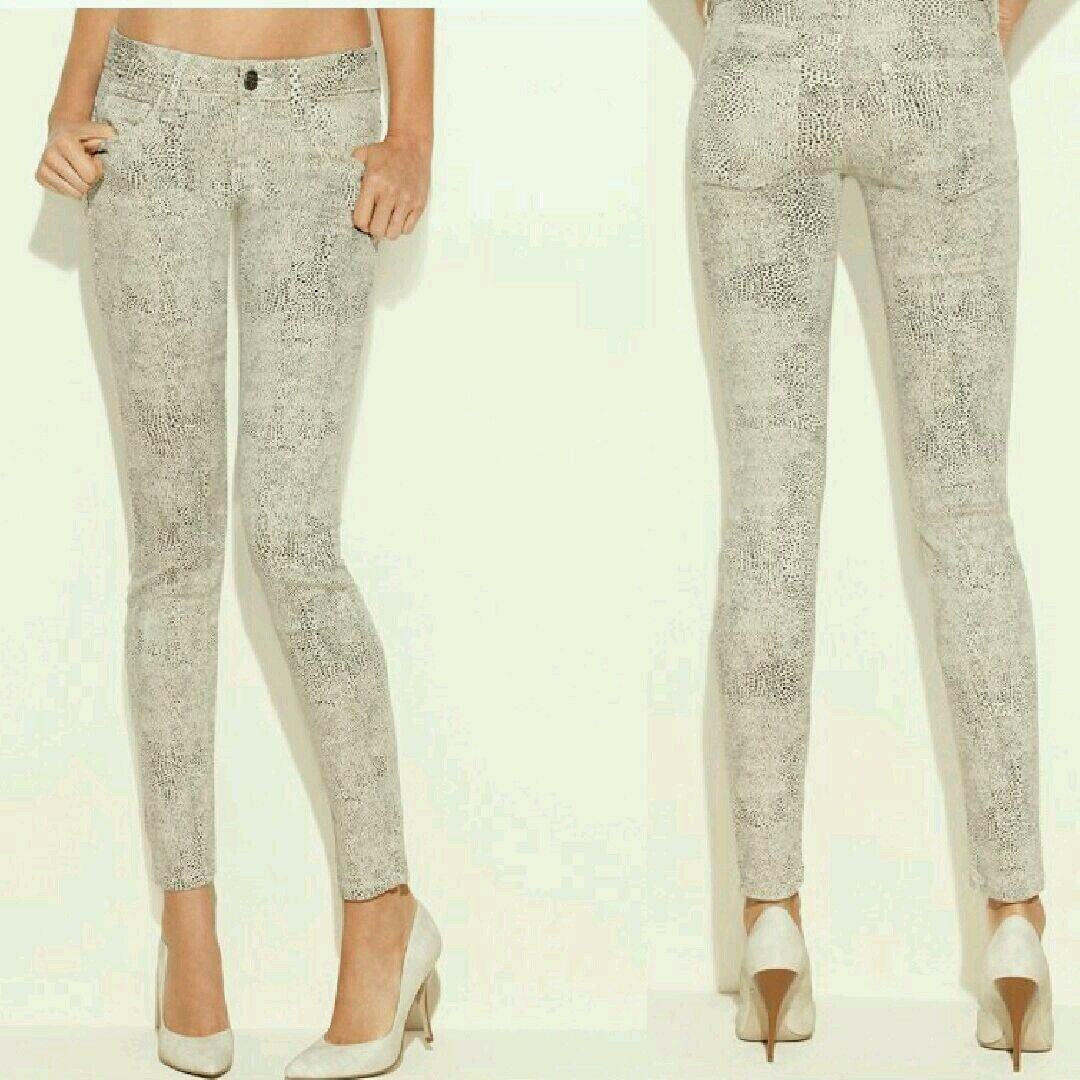 Guess Women's Power Skinny Jeans in Smart Stone Wash Sz 28