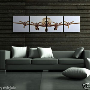 Pictures Wall Art The Airplane Canvas Art Home Decor Modern Pictures No Frame Ebay