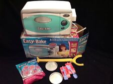 Easy Bake Oven And Snack Center 2009 Hasbro - Teal - + Sugar Cookie Baking Mix