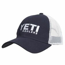 fc20147a15830 Yeti Coolers Deep Fit Foam Patch Trucker Hat Blue Chambray Fast for ...