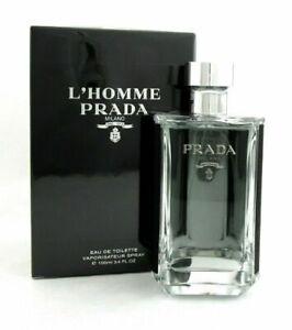 Detalles de L'Homme Prada Para hombre Eau de Toilette 3.4 oz100 Ml Nuevo Original ver título original