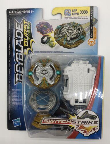 Hasbro Beyblade Burst Turbo SwitchStrike Ωrichalcum Orichalcum O3 D60//TS17 NEW