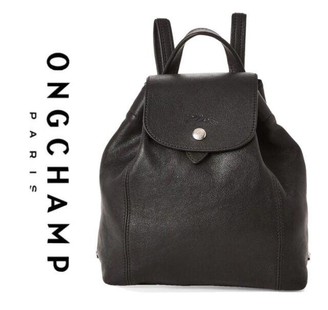 Longchamp Le Pliage Cuir XS Leather Backpack Women's