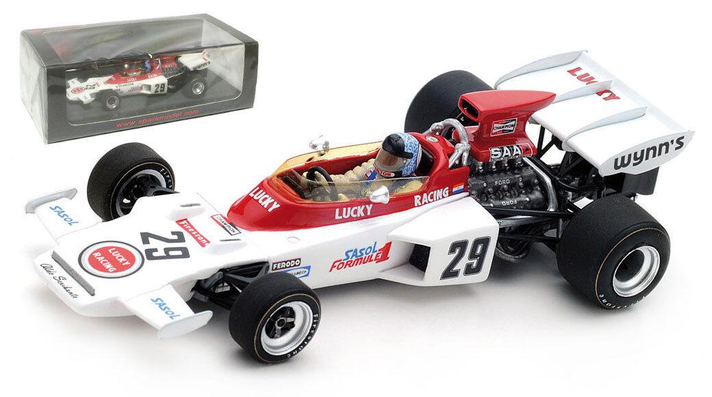 SPARK S5346 LOTUS 72D  29 British GP 1972-Dave CHARLTON échelle 1 43