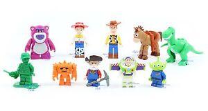 Nouveau lot de figurines Lego Toy Story - Woody Jesse Bullseye Rex Stinky Pete
